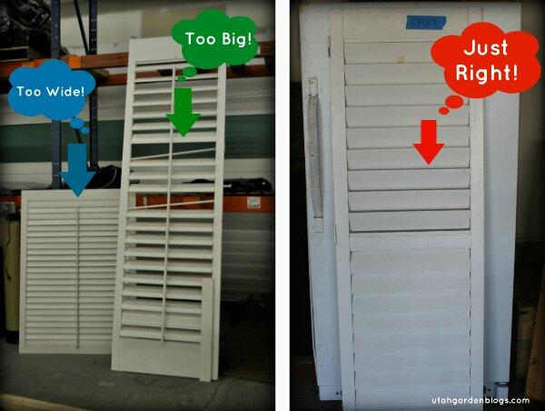 restore shutter options